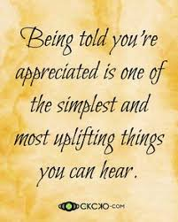 Appreciation Quotes on Pinterest | New Week Quotes, Granted Quotes ... via Relatably.com