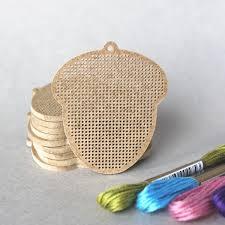 Дивная вишня-А024 Желудь (деревянная <b>основа для вышивания</b> ...