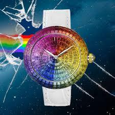 <b>Радуга</b>-<b>дуга</b>: часы Jacob & Co. Brilliant Full Baguette Rainbow ...