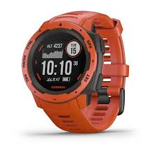 <b>Прочные GPS-часы Garmin Instinct</b> Flame Red