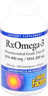 <b>Natural Factors RxOmega-3</b> Factors™ -- 240 Softgels - Vitacost
