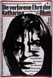 Resultado de imagen para el honor perdido de katharina blum