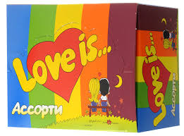 <b>Love is Жевательная резинка</b> Ассорти вкусов, 100 шт — купить в ...