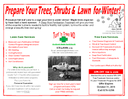 lawn care flyers tree lawn and landscape lawn care flyers