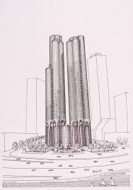 Lakeshore Grand Apartments, Chicago, Illinois | The Art Institute of ...