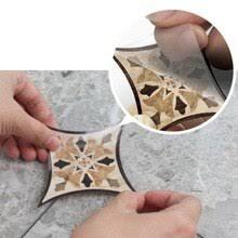 21pcs <b>Self Adhesive</b> PVC Ceramic <b>Tile Stickers</b> Waterproof <b>Wall</b> ...