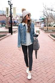<b>Jeans outfit</b> Winter