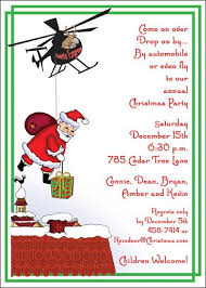 christmas party invitation wording at  santa express christmas invitation