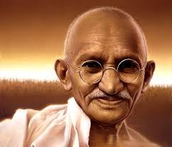 Resultado de imagen para fot de Gandhi