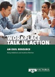 teaching and learning resources school of linguistics and workplace talk in action