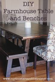 traditional english handmade dining my  misters amp their sister diy handmade farmhouse table and benches