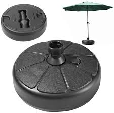 <b>Umbrella Base</b> Round Shape <b>Plastic</b> Water Filled Outdoor <b>Patio</b> ...