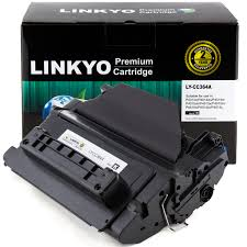 LINKYO Replacement Toner Cartridge for <b>HP 64A CC364A</b> (1-Pack ...