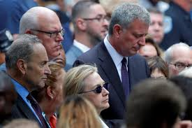 Hillary Clinton left 9/11 memorial ceremony after feeling