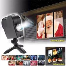 <b>Halloween Christmas</b> Landscape 12 Movies Window <b>Projector</b> ...