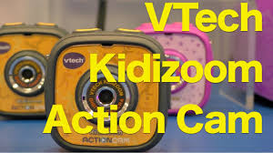 VTech <b>Kidizoom Action Cam</b>, First Look at Kid's Action Camera from ...