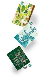 Starbucks Gift Cards - Give thanks, give warmth, give delights with a ...