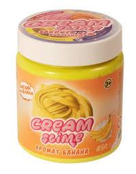 """Флаффи <b>слайм</b> """"<b>Cream Slime</b>"""", <b>450 гр</b>, аромат банана - купить в ..."""