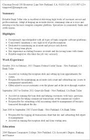 professional bank teller templates to showcase your talent    resume templates  bank teller