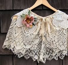 Lovely for our <b>cool</b> winter mornings now... | Lace capelet, Antique ...