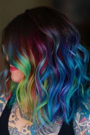 17 Best Multicolored Hair images in 2019 | Multicolored hair, Hair ...