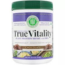 Green Foods <b>Plant</b> Based Protein <b>True Vitality</b>