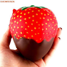 <b>11.5cm</b> Strawberry Scented Squishy Slow Rising <b>Squeeze Toys</b> ...