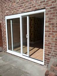 large sliding patio doors: sliding interior doors and double s white aluminium with f exposed brick wall panel also glass exterior large size