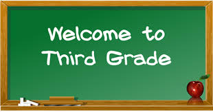 Image result for welcome to the third grade