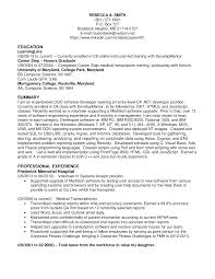 software entry level resume s developer lewesmr sample resume software developer c net in frederick