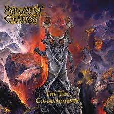 """Pre-order """"The Ten Commandments"""" from <b>Malevolent Creation</b> now!"""