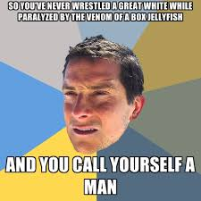 So You've Never Wrestled A Great White While Paralyzed By The ... via Relatably.com
