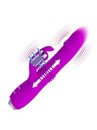<b>Вибратор кролик с функцией</b> поступательных движений Pretty ...