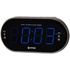 Радио-<b>часы Vitek VT-6610</b> SR - характеристики, техническое ...