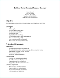 dental assistant cv sample event planning template dental assistant resume example certified dental assistant resume