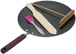 Decdeal Crepe Pans Crepe Spreader <b>Pancake</b> Pan <b>Crepe Maker</b> ...