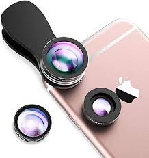 Mpow Fisheye Lens,<b>3 in 1</b> Clip-On <b>180</b> Degree Supreme: Amazon ...
