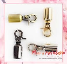 2/<b>4pcs Meetee</b> Metal Buckles Bag Handle Strap Belt Cap Hook ...