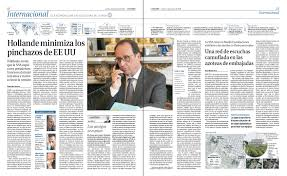 press room org newspaper la razoacuten about the wikileaks revelation that united states national security agency targeted the communications of three french presidents