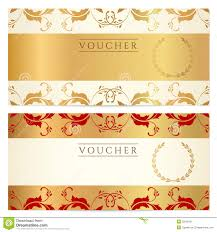 template for a voucher template template for a voucher