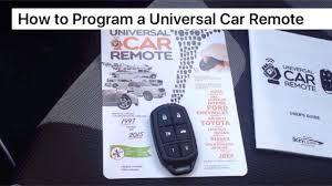How to Program a <b>Universal</b> Car <b>Remote</b> - YouTube