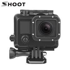 <b>SHOOT 45m Underwater</b> Diving <b>Waterproof</b> Case for GoPro Hero 4 ...