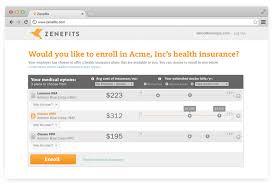 zenefits pricing features reviews comparison of alternatives health insurance enrollment