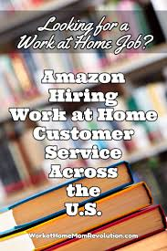 best images about telecommuting jobs tips work amazon hiring work at home night and weekend support