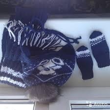 <b>Набор</b>. Шапка, <b>шарф и варежки</b> купить в Челябинской области на ...