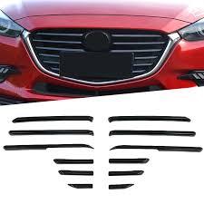 ABS хром углеродное волокно Стиль передняя Центральная ...