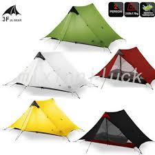 New 3F UL GEAR <b>2 Person Outdoor</b> Ultralight Camping Tent 3 ...