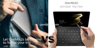 <b>One NetBook</b> One <b>Mix</b> 2s vs One <b>Mix</b> 3s Yoga Mini Laptop ...
