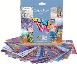 <b>Double Sided</b> Avenue Mandarine Origami Paper 70 g 60 Sheets 20 ...