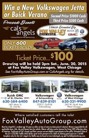 enter to win a new car cal s angels car raffle flyer
